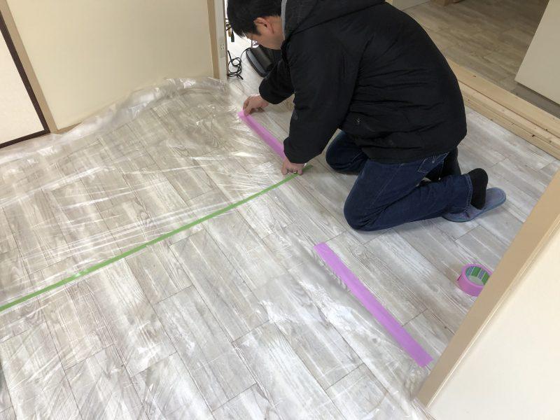 塗装作業の養生は布ポリマスカー