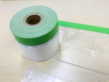 【あると便利な道具】塗装作業の養生に便利!布ポリマスカー