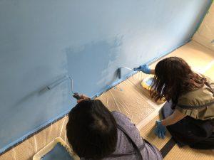 【ワークショップ報告】珪藻土壁塗りワークショップを実施いたしました。